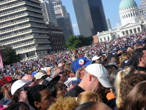 100,000 came to listen